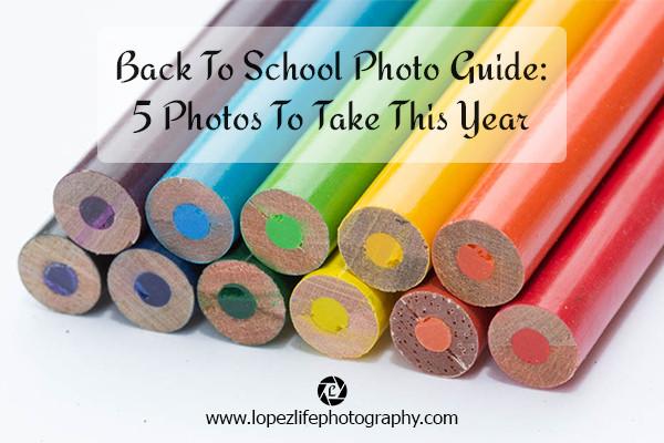 Olathe Family Photographer - Back to School Photo Guide
