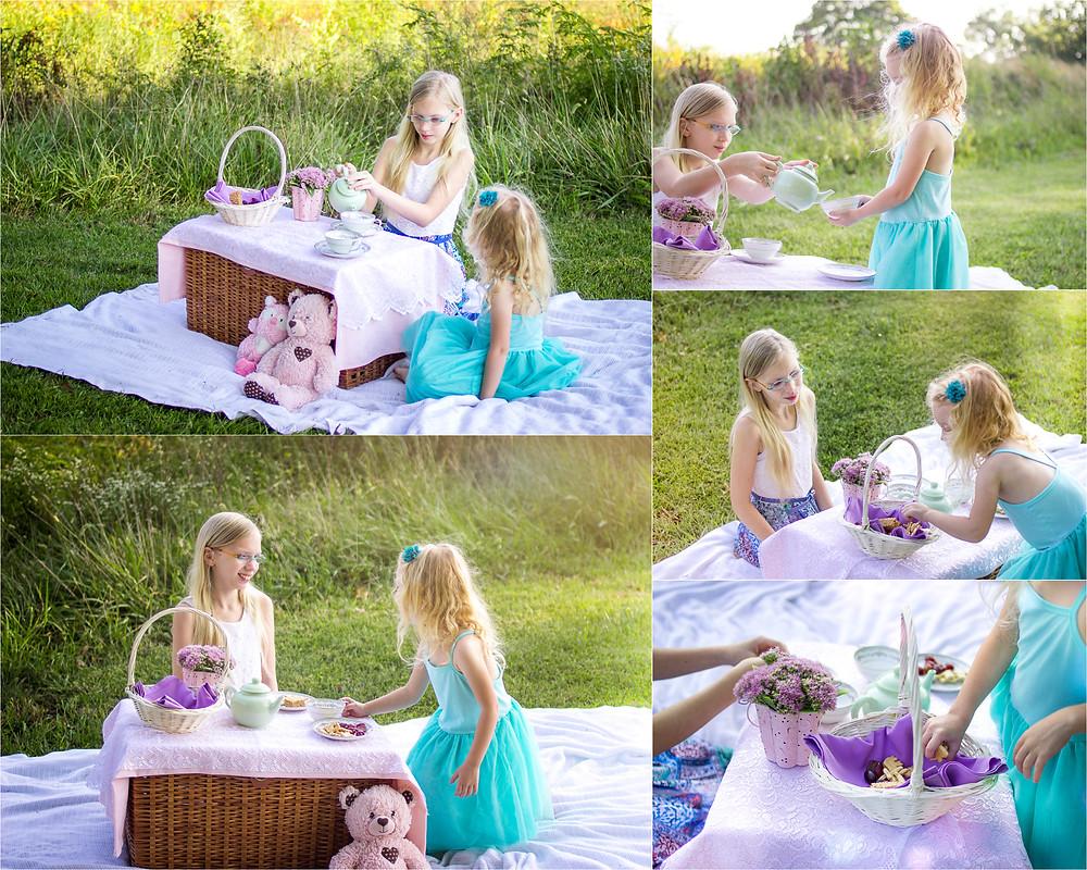 Overland Park Child Photographer Tea Party