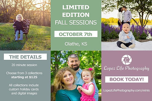 Fall Mini Sessions Kansas City