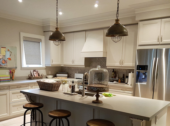 Cabinet Refacing with Extras