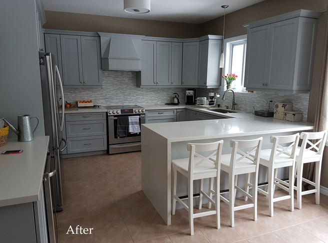 Refacing - After