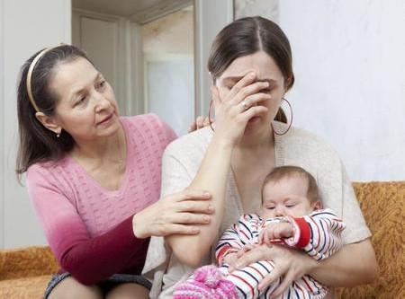 Cuando ser madre no es sinónimo de felicidad.