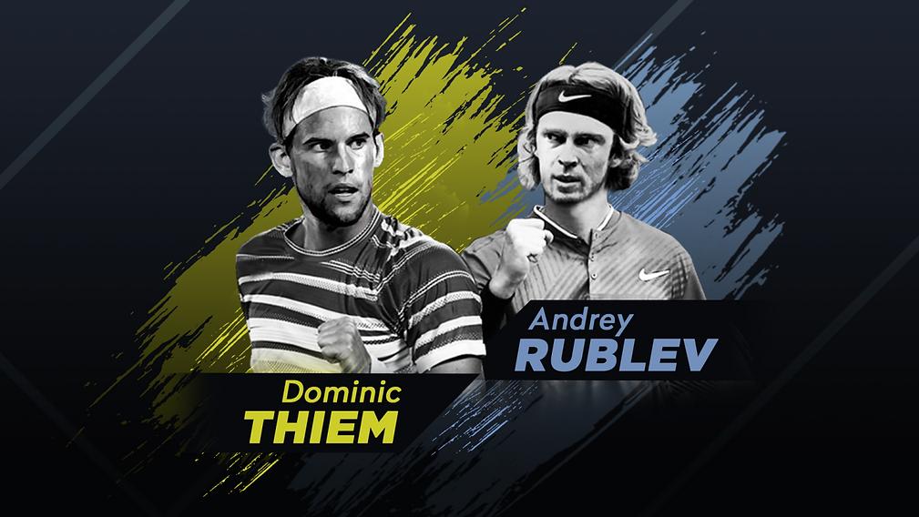 Dominic Thiem y Andrey Rublev se enfrentarán en México Tennis Showdown