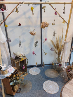 arche fleurs séchés