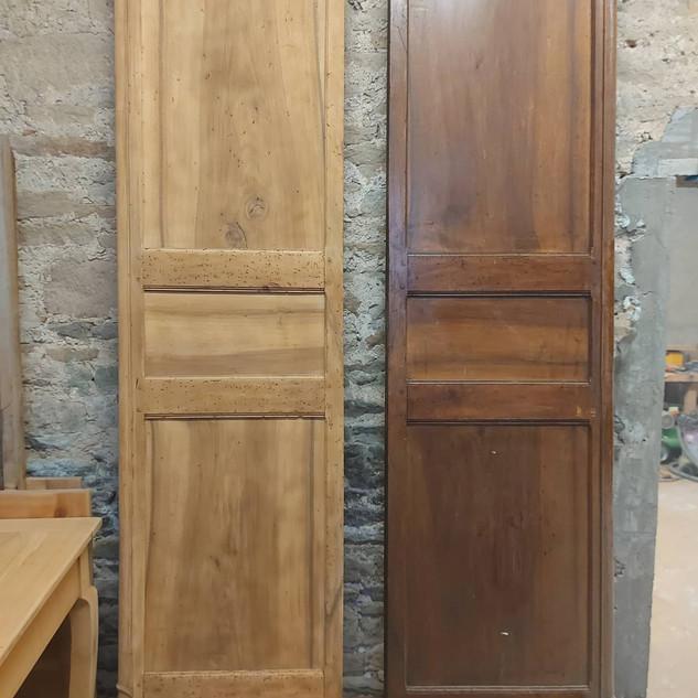 Avant / Après porte d'armoire