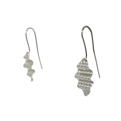 Ripple Wave Drop Earrings