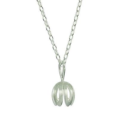 Outline Crocus Necklace