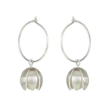 Crocus Hoop Earrings