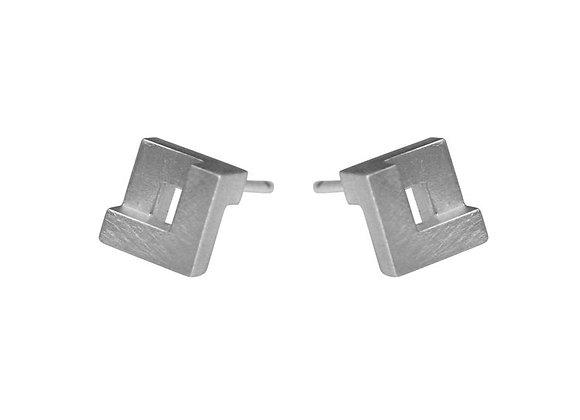 Geom Mini Nugget Stud Earrings
