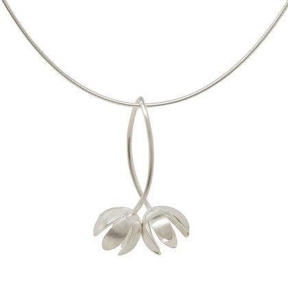 Crocus Double Flower Pendant