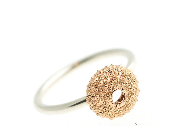 Urchin Ring, Rose Gold Plated