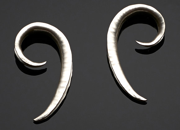 Clef Stud Earrings