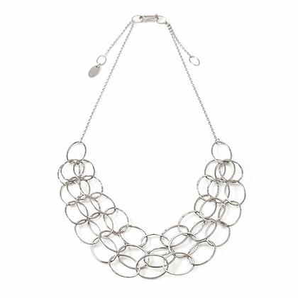 Triple Cascade Necklace