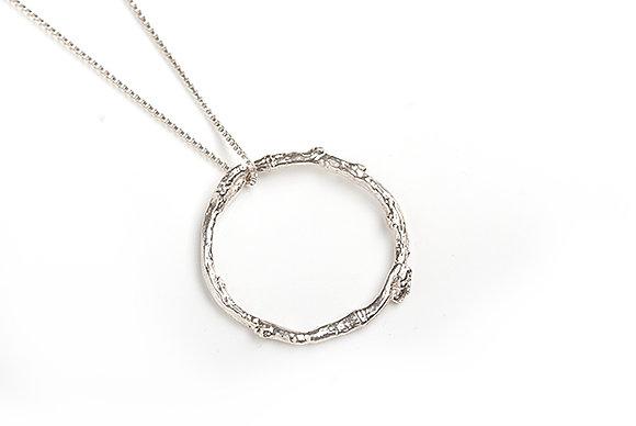 Twig Circle Necklace