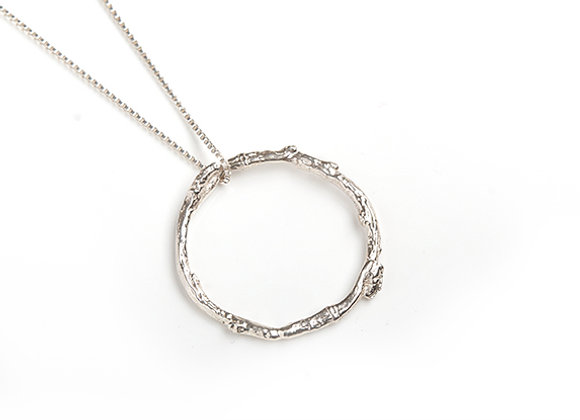 Twig Circle Necklace
