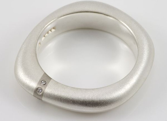 Lode Medium Diamond Ring