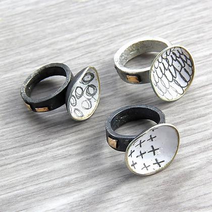 Domed Rings