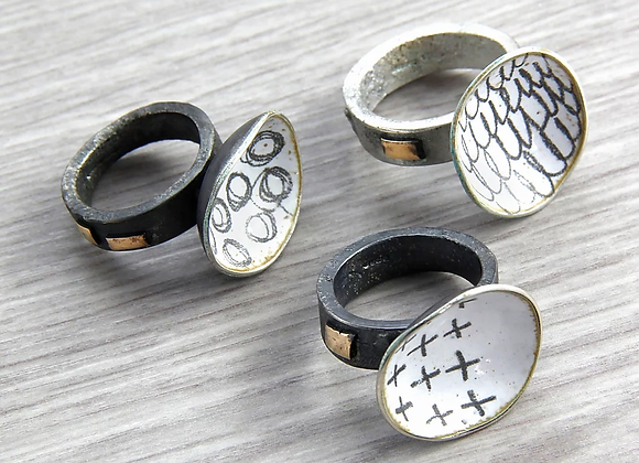 Domed Rings