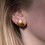 Thumbnail: Pillow Stud Earrings, gold plated