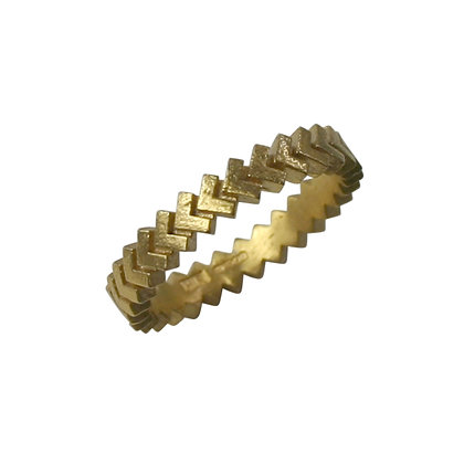 Sync Ring, gold plated