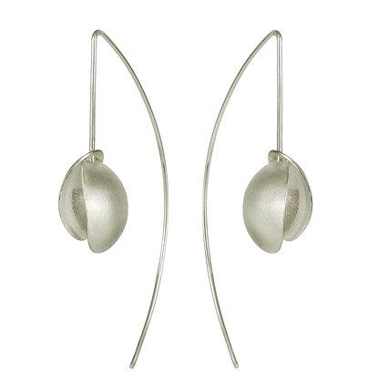 Double Seed Long Wire Earrings