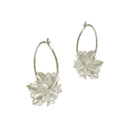 Allium Hoop Earrings