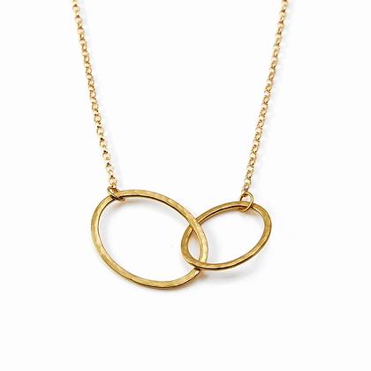 Gold Mini Cascade Necklace