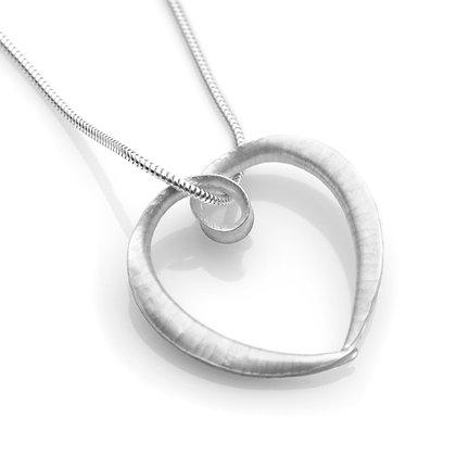 Cornucopia Heart Pendant