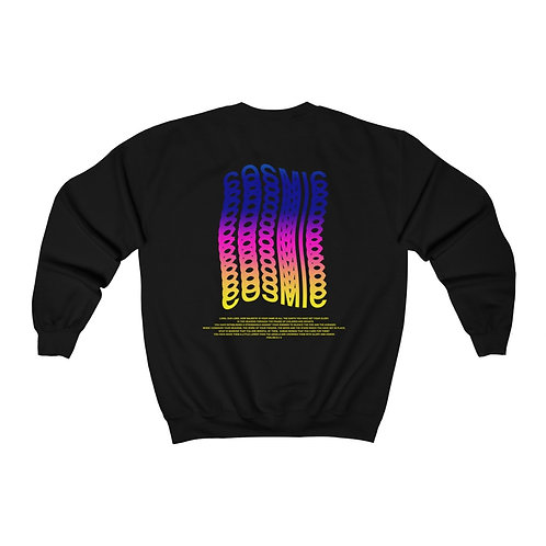 Cosmic Worship Vaporwave Sweatshirt