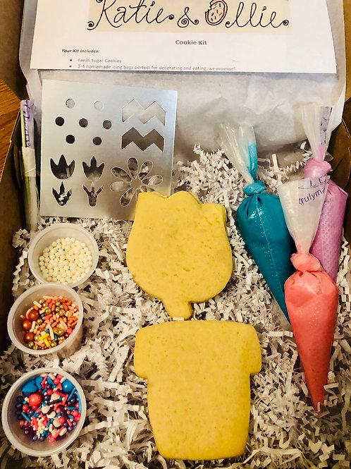 Flower Pot Cookie Kit