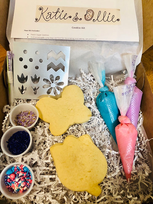 Butterflies and Flowers Cookie Kit