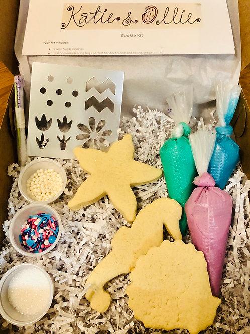 Sea Life 2 Cookie Kit