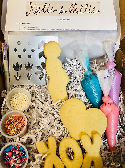 Mom-To-Be Cookie Kit