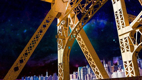 59th St. bridge Night time on the upper Rodeway