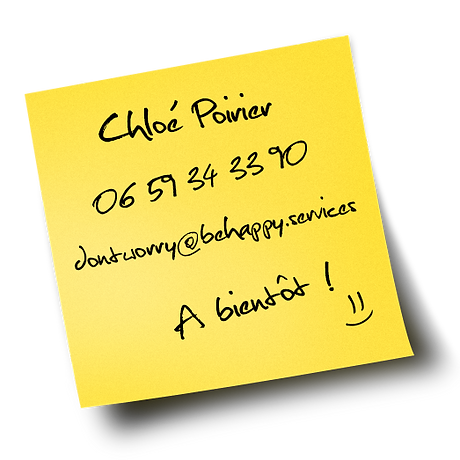 Contact Assistante freelance don't worry be happy