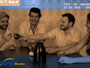 Flor de Aguapé no SESC Bauru