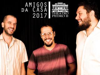 Trio Teimoso é aprovado no Amigos da Casa 2017