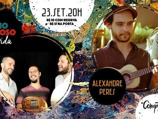 Trio Teimoso convida Alexandre Peres