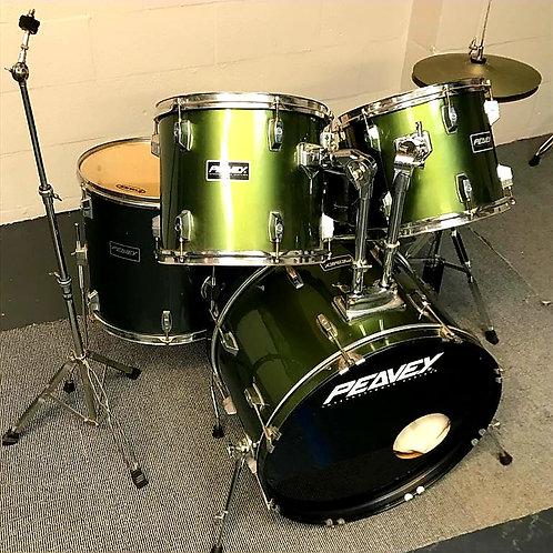 Peavey International Series 5 Piece Drum Kit Grey