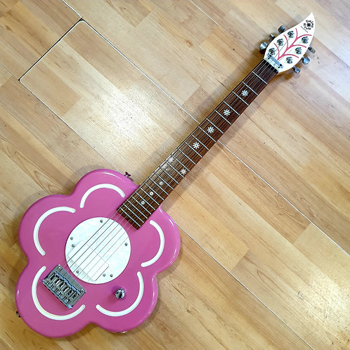 Daisy Rock Pink Flower Electric Guitar Second-Hand