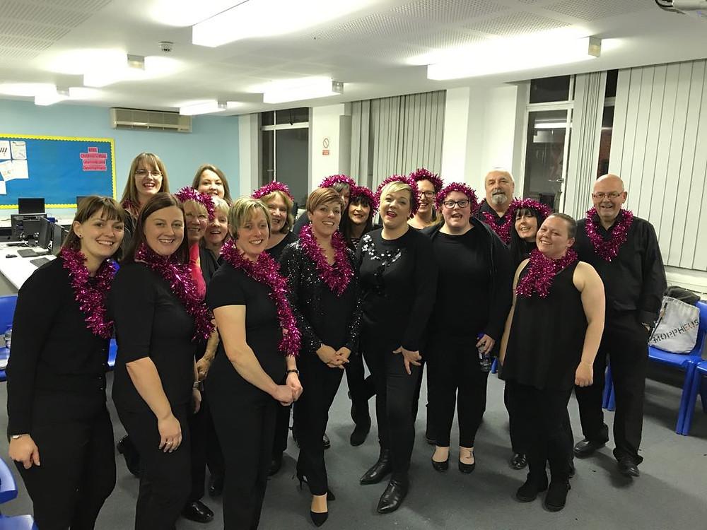 Backstage @ Nicholas Hammond Academy Christmas Extravaganza 2017