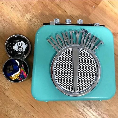 HoneyTone Mini Amp & Pick Geek Tin