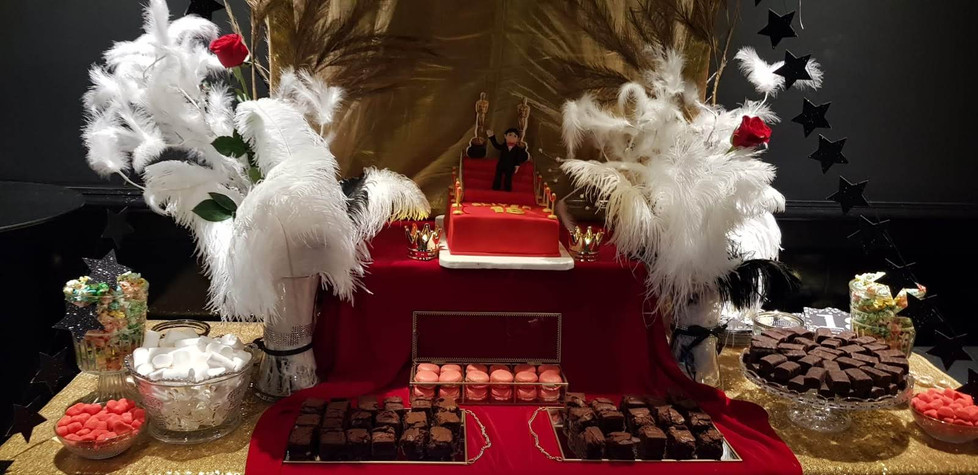 Fiesta La noche de los Oscar's. Candy Bar