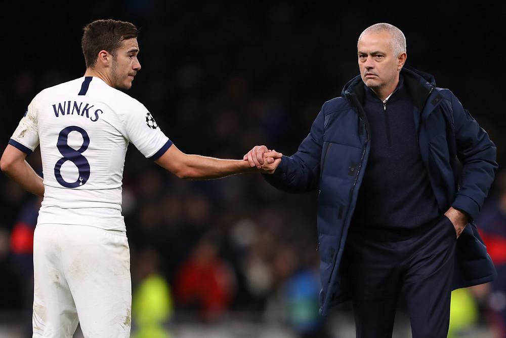 Jose Mourinho Harry Winks