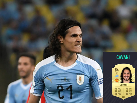 EDINSON CAVANI FINALLY AVAILABLE ON FIFA 21 ULTIMATE TEAM