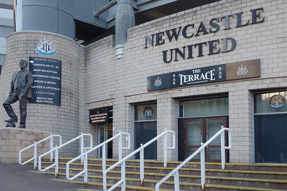 Newcastle United The Terrace