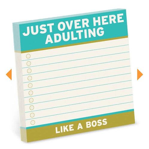 Adulting. Like a boss.