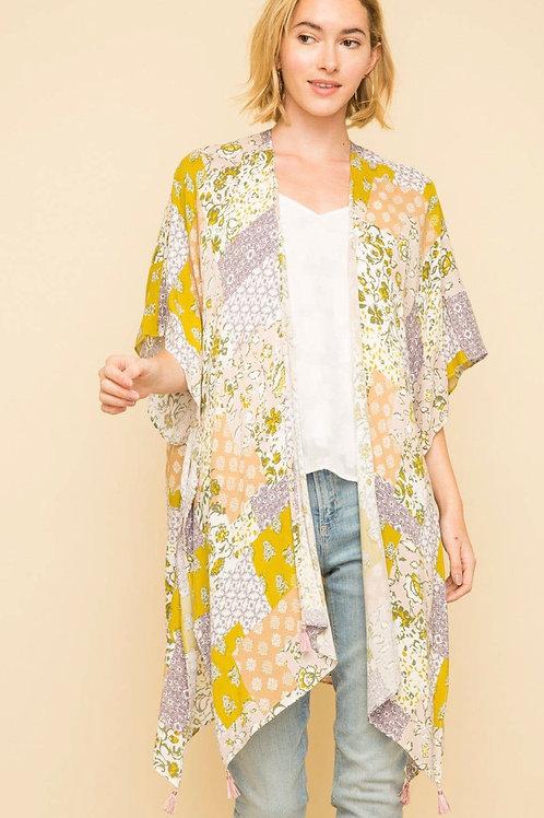 Patchwork Spring Kimono