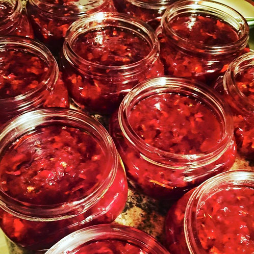 Organic Rose Petal Bliss Jam