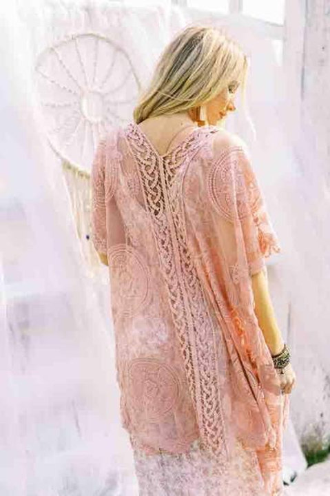 Bellamy Lace Kimono